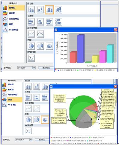 万达宝ERP系统自定义报表